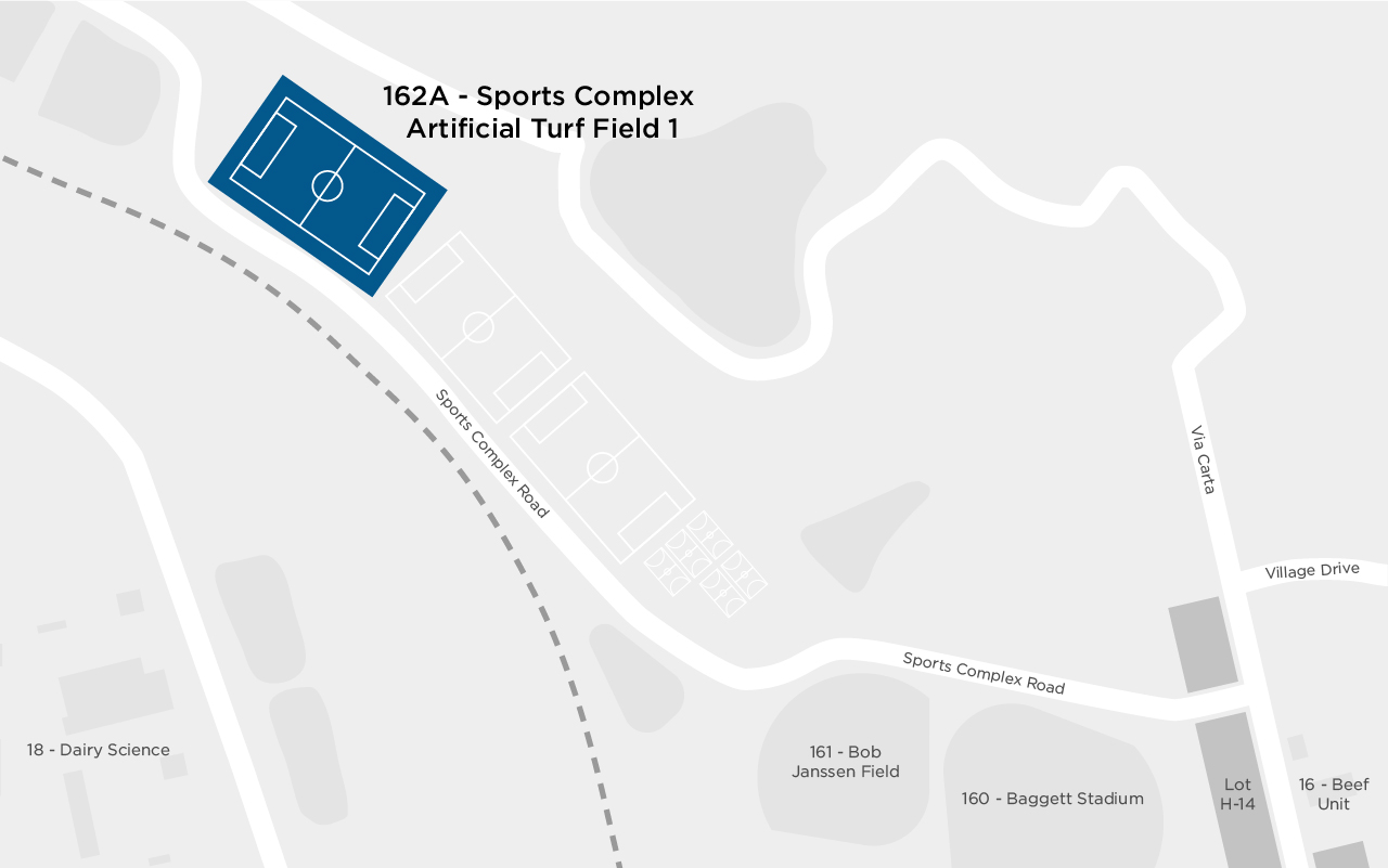 Sports Complex Artificial Turf Field 1 map