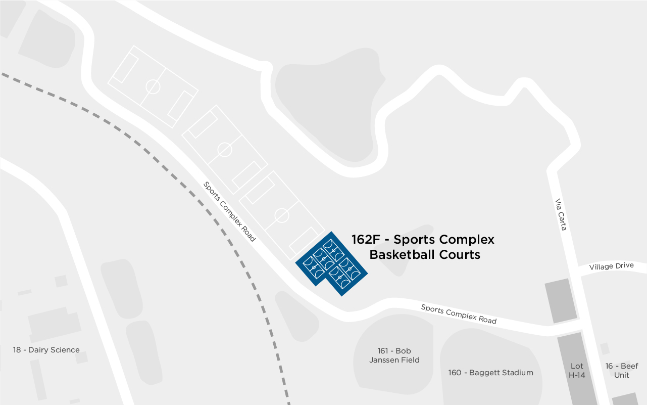 ASI Sports Complex Basketball Courts map