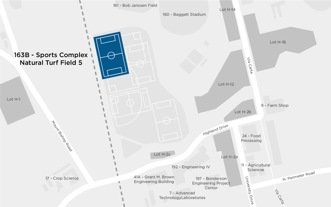 Sports Complex Natural Turf Field 5 map