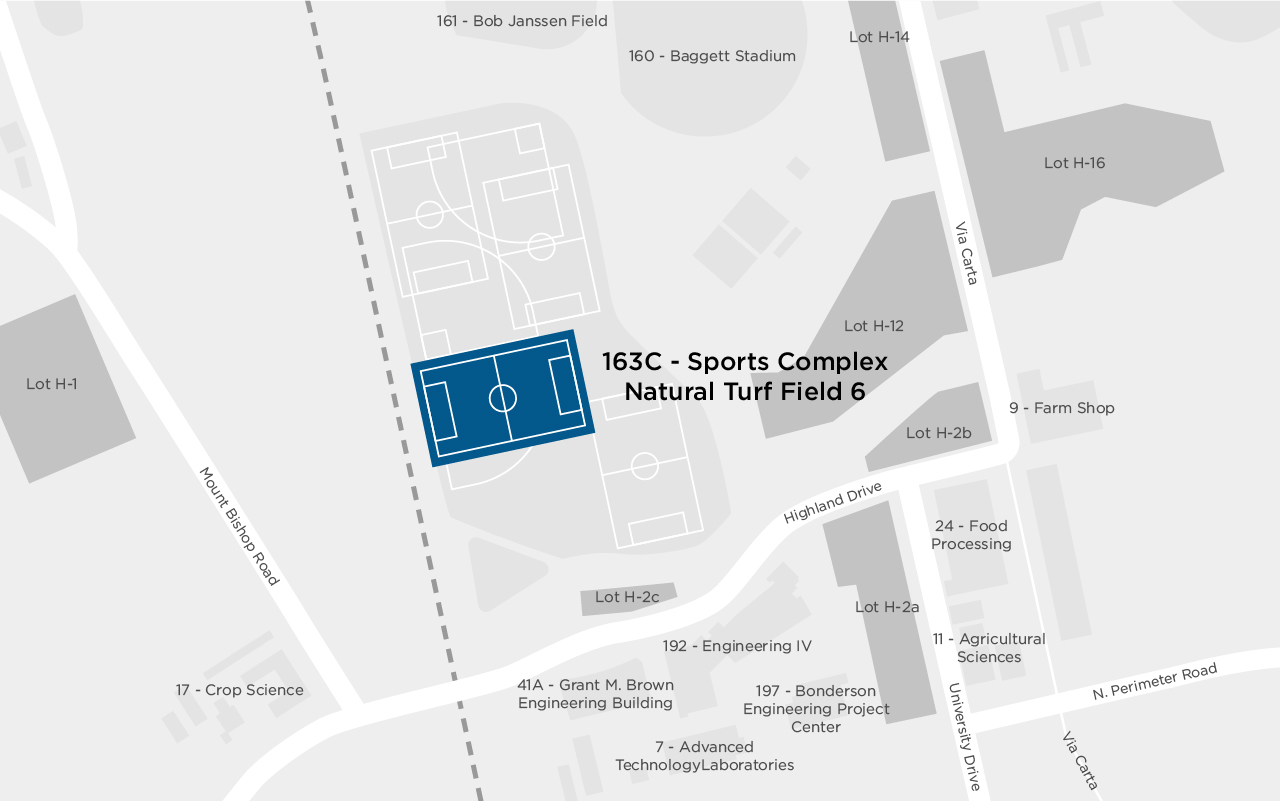Sports Complex Natural Field 6 map