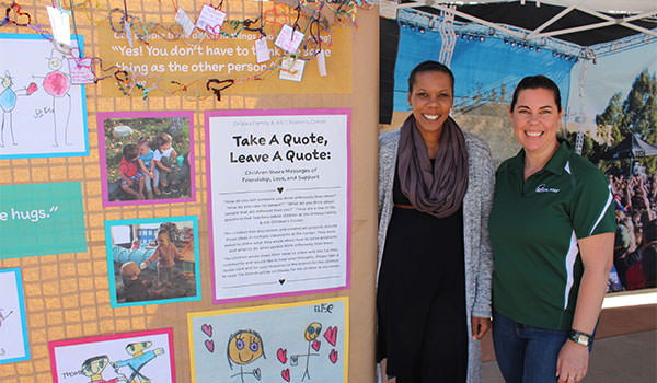 asi cal poly children's center staff smiling at the camera