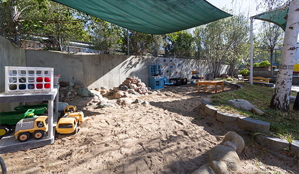 asi children's center room three sand pit