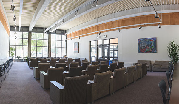 Lounge Chairs Inside of the Cal Poly University Union