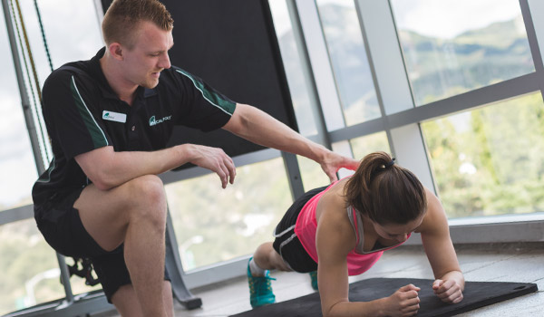 Personal Trainer at the cal poly recreation center