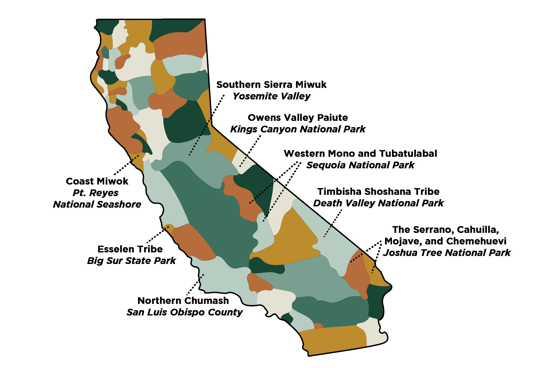 California Indigenous Land Territories